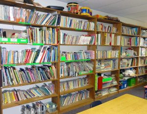 Library at preschool