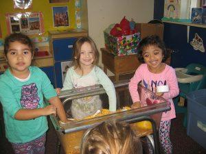 Children learning in Newark
